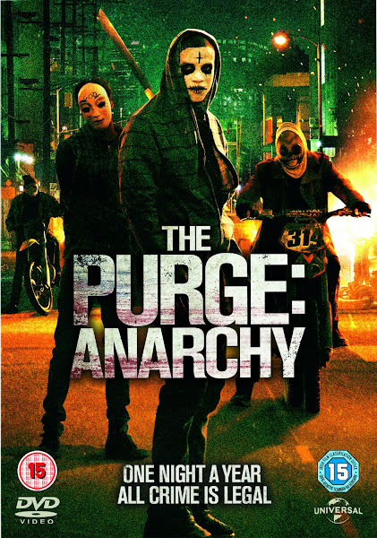 Poster Of The Purge Anarchy 2014 720p BRRip Dual Audio