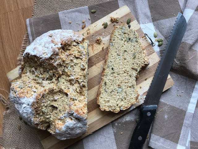 IRISH SODA BREAD PIPAS RECETA