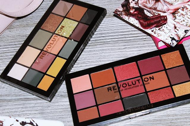Makeup Revolution Re-Loaded Newtrals 3 & Iconic Division PL|EN