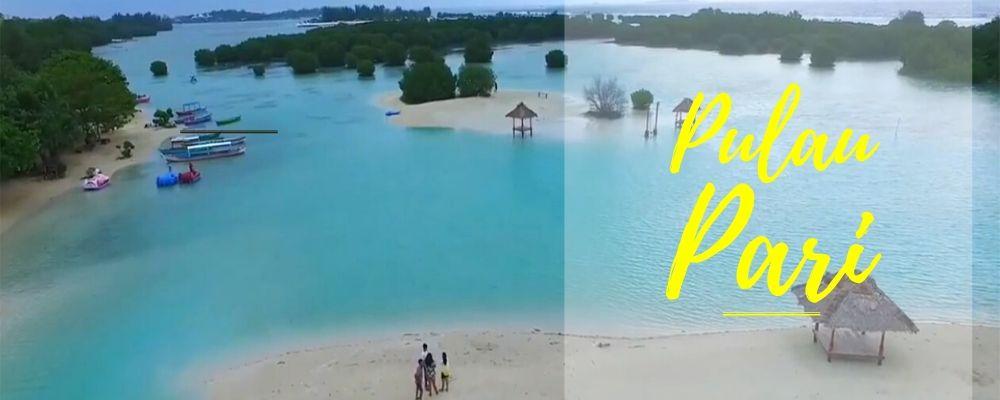 paket wisata open trip pulau pari kepulauan seribu