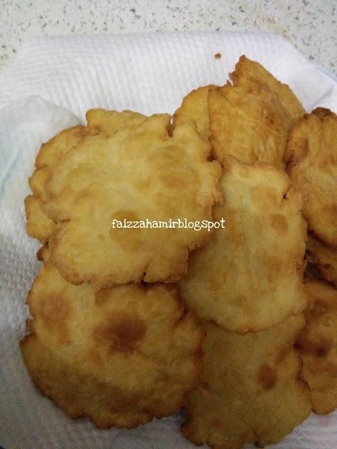 Kunyah Kunyah Petang ~ Roti Puri Tak Kembung