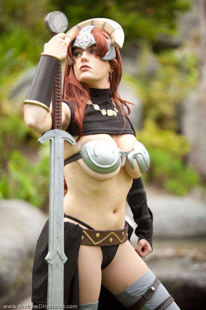 abby dark star sexy claudette vance cosplay 03