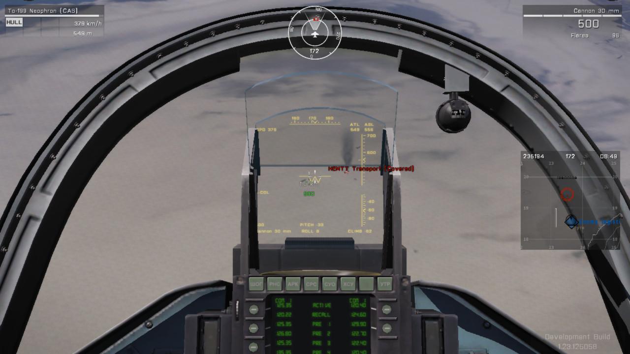 航空機の HUD へ着弾位置を表示する Arma 3 用 CCIP アドオンが