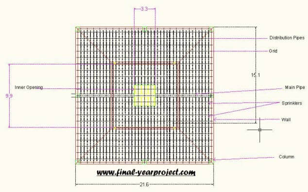 Civil Project Natural Cooling Tower Plan