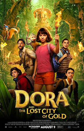 Poster Of Dora and the Lost City of Gold 2019 In Hindi Bluray 1080P Free Download