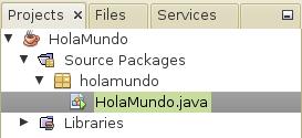 Hola Mundo en GNU/Linux desde NetBeans