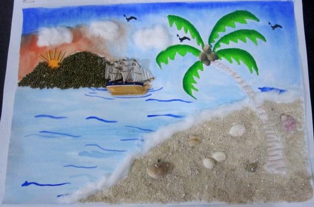 107+ pemandangan tepi pantai lukisan Terbaru