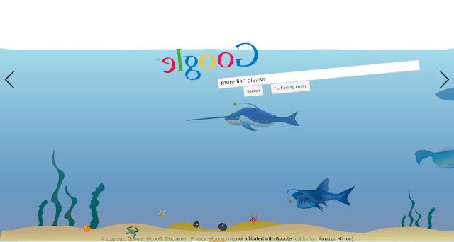 تأثير كلمة google underwater في محرك البحث جوجل