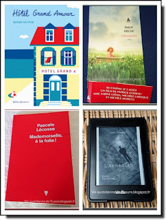 Vie quotidienne de FLaure : Lectures présentées pendant le mois d'octobre 2017