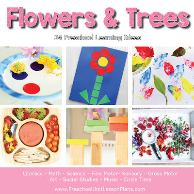 Flowers and Trees Preschool Theme