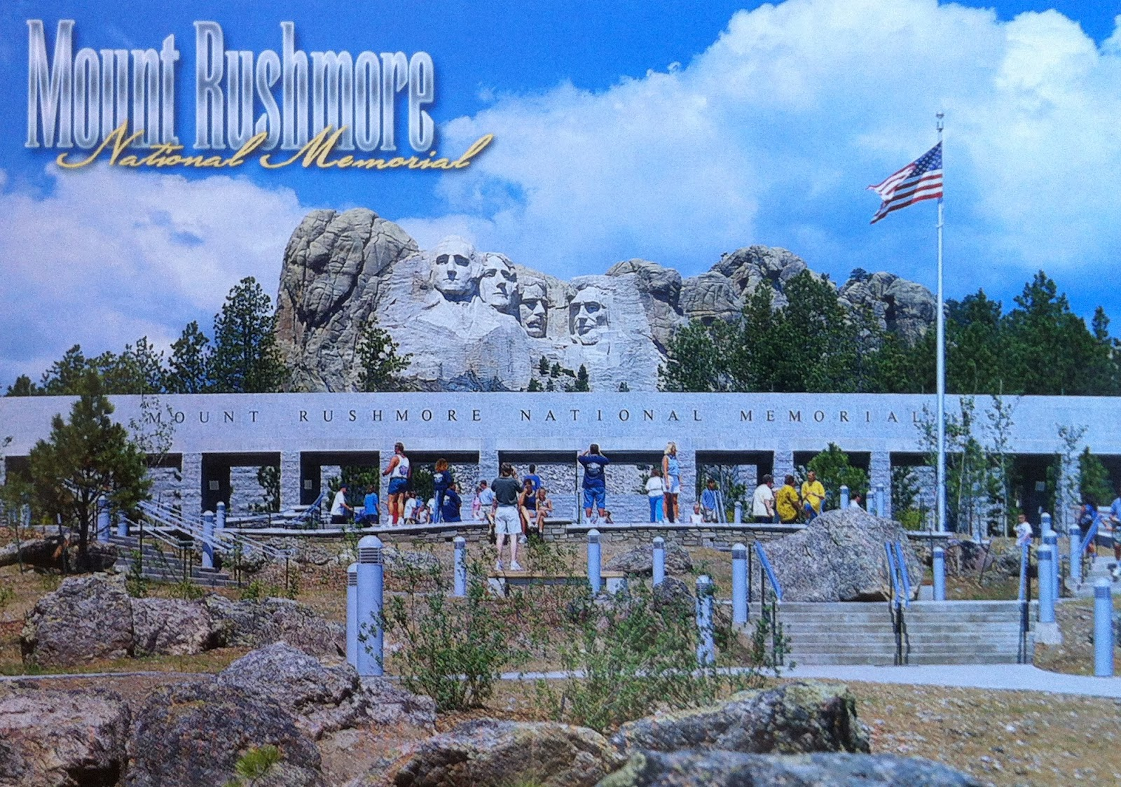 U S A Postman: Mount Rushmore : Things to do and look