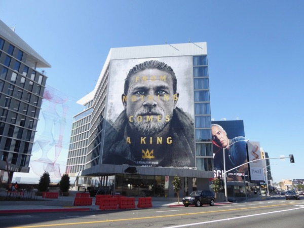 Giant King Arthur 2017 movie billboard