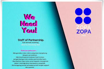 Lowongan Kerja Staff of Partnership Zopa.id