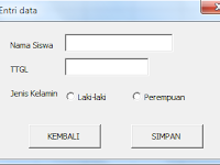 KODE MACRO OPTIONBUTTON EXCEL PADA USERFORM