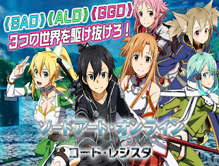Sword Art Online Code Register App