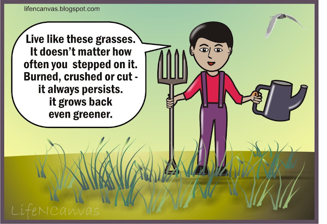 cartoon grasses