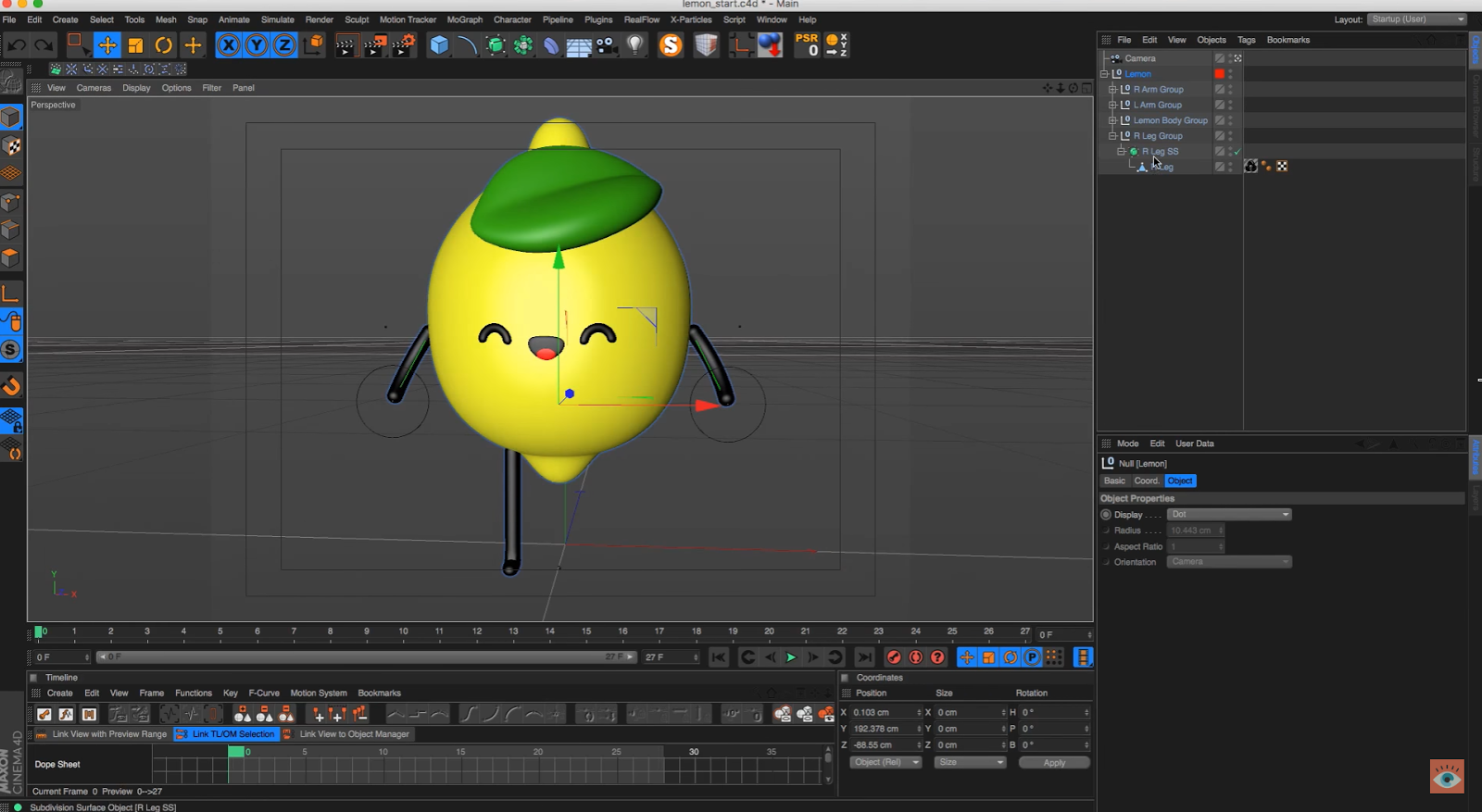 Animate A Simple Character In Cinema 4d – Desenhos Para Colorir