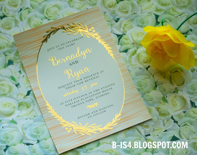 Wedding Invites, Vow Renewal Invites