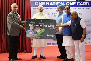 NCMC - Modi launches One Nation One Card that would work across the country