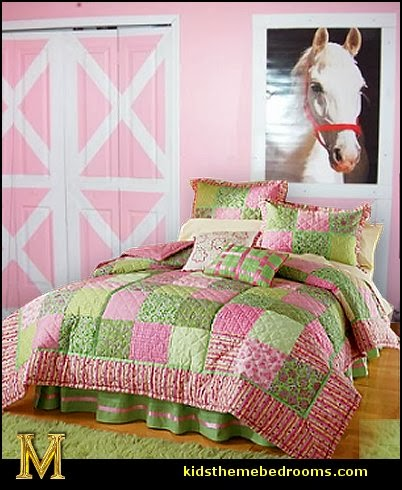 horse theme bedroom - horse bedroom decor - horse themed bedroom decorating ideas - Equestrian decor - equestrian themed rooms - cowgirl theme bedroom decorating ideas - Dressage Wall Decals - English riding theme - equestrian bedding - Horse Riding bedding