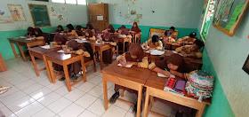 Cakruk Baca Bergerak dan Penarawa  di Lomba Nulis Cerpen MI Miftahul Ulum, Kadirejo, Pabelan