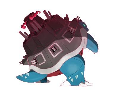 Blastoise Gigantamax