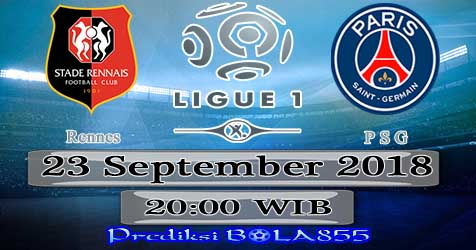 Prediksi Bola855 Rennes vs Paris Saint Germain 23 September 2018