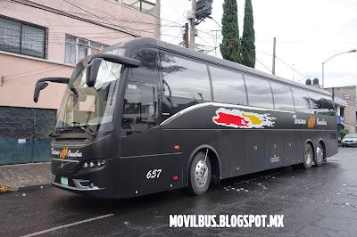 volvo 9700 de turismo en omnibus