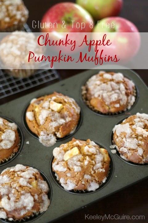 Gluten Free Allergy Friendly Fall Baking Chunky Apple