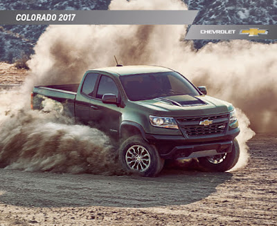 Downloadable 2017 Chevrolet Colorado Brochure