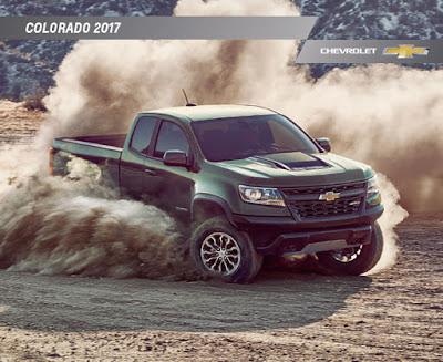 Downloadable 2017 Chevrolet Colorado Brochure