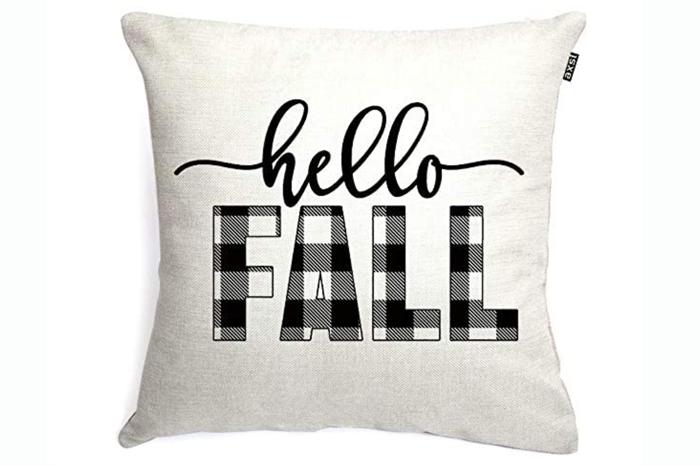 Hello, Fall Pillow