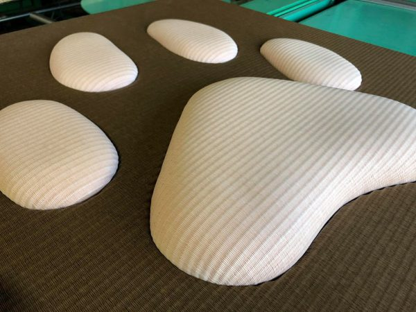 畳に猫の肉球をデザイン?犬猫、ペット専用の畳?【d】