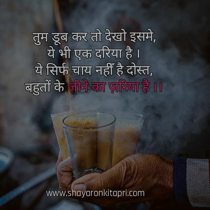 chai quotes and shayaris