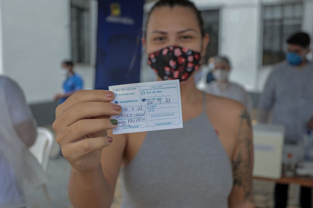Vacinação para pessoas acima de 27 anos começa nesta quinta-feira (29) em Porto Velho