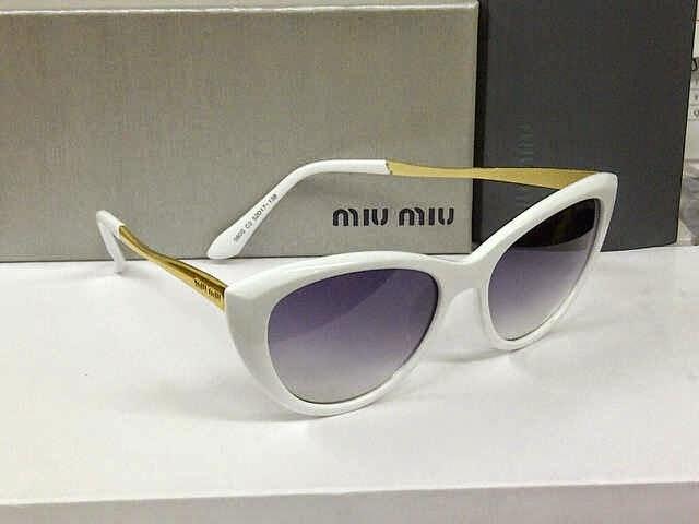 Kacamata Miu-miu 080 putih 5b1ee2cbec