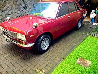 LAPAK MOBIL JEPANG RETRO ; Datsun 510 Kotak kolektor - BANDUNG