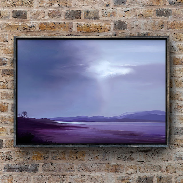 Evenings Low Tide by Mark Taylor, beach art, seascape, landscape art,