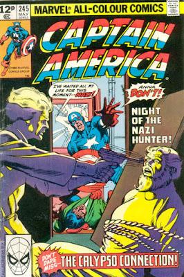 Captain America #245