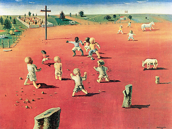Portinari e suas pinturas com crianças brincando