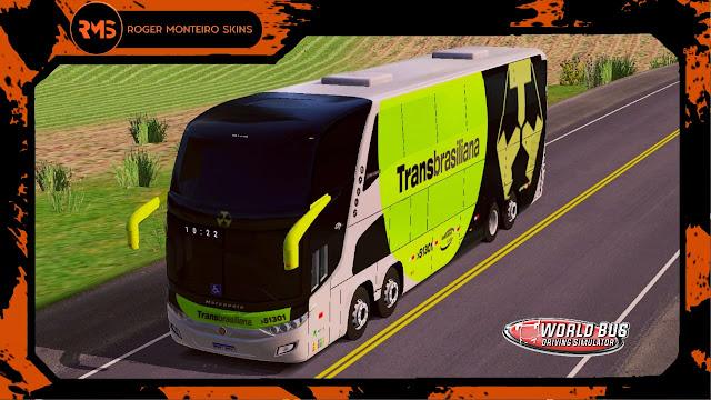 Skins World Bus, Transbrasiliana