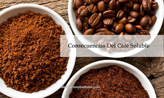 Consecuencias de tomar café intantaneo