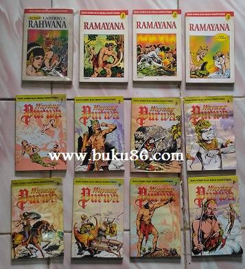 Komik Wayang Purwa Ramayana Rahwana Bekas