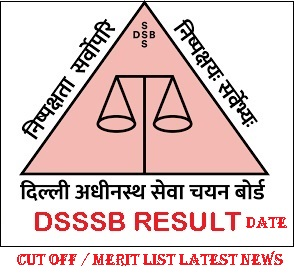 DSSSB Junior Stenographer Result 2021