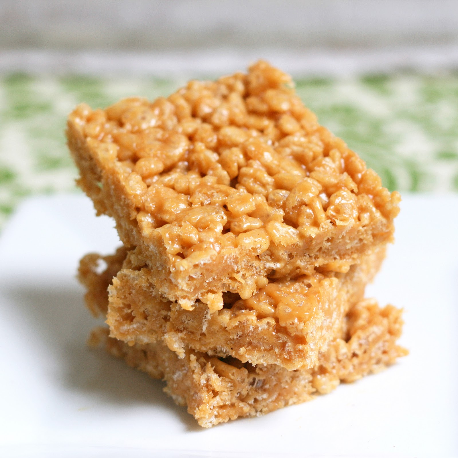 Mix It Up: Peanut Butter Rice Crispy Treats