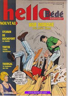 Hello-Bébé, numéro 17, 1991, Bob Morane