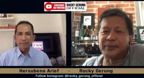 Kritik Isi Pidato Jokowi di Sidang PBB, Rocky Gerung: Cuma Kayak Sambutan