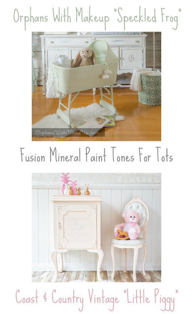 Fusion Mineral Paint Tones For Tots Speckled Frog Little PIggy, Bliss-Ranch.com