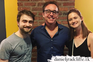 Bonnie Wright visits Daniel Radcliffe at Privacy