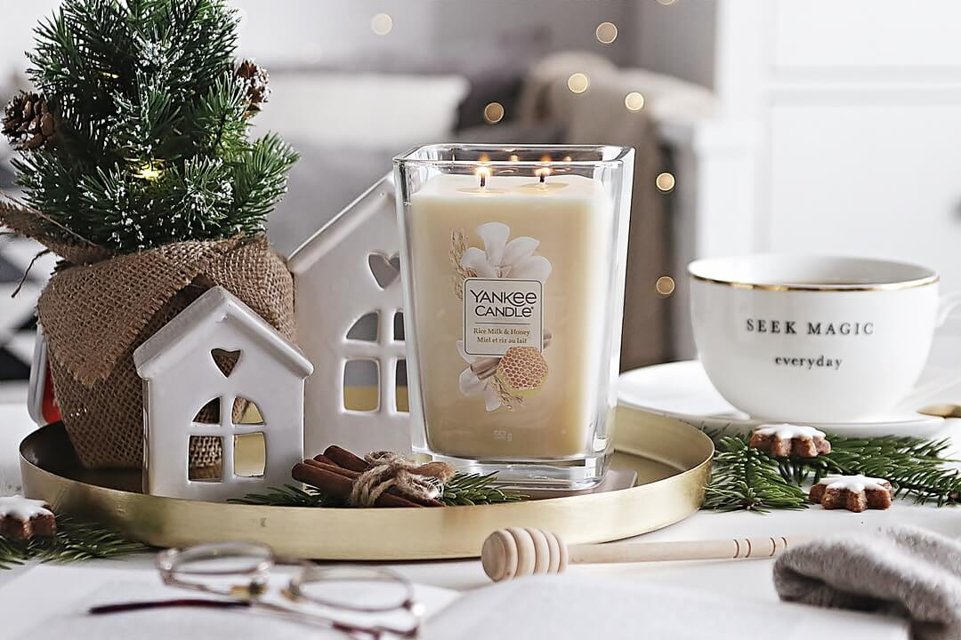 yankee candle rice milk and honey